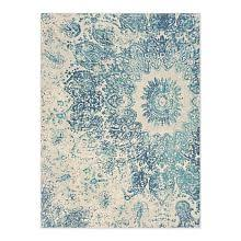 Teal And Gold Rug Rugs On Sale West Elm