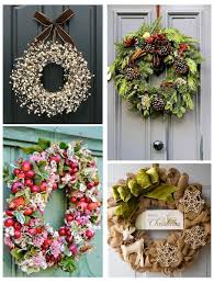 Holiday Wreath Ideas Pictures 12 Gorgeous Christmas Wreath Ideas Style Barista