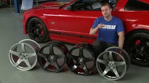 Black And Red Mustang Rims Mustang Forgestar Cf5 Monoblock Wheels Gunmetal Black And