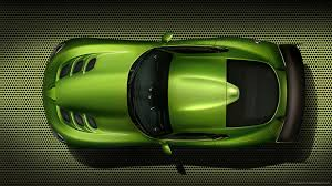 top dodge cars dodge srt viper stryker green top view for 1920x1080 cars