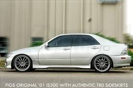 lexus is300 trd figs to remake is300 sideskirt figs