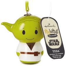 itty bittys wars yoda hallmark ornament gift ornaments
