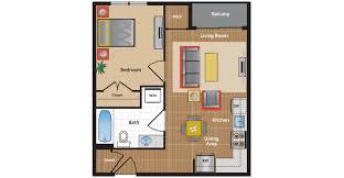 one bedroom floor plan metro apartments floor plans pricing