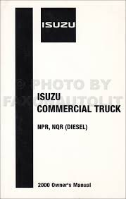 1999 2004 diesel engine 4he1 tc repair shop manual isuzu npr nqr