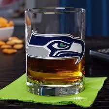 rocks glass seattle seahawks rocks glass engravable whiskey glasses glass