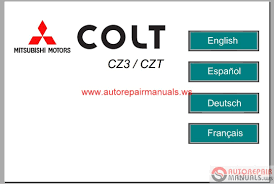 mitsubishi colt 2006 service manual auto repair manual forum