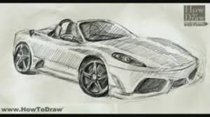 ferrari drawing drawn ferrari sports car pencil and in color drawn ferrari