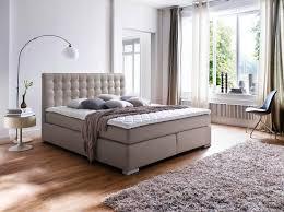 Schlafzimmer Braunes Bett Boxspringbett Aufbau Topper Mobelplatz Com