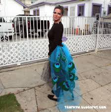 Peacock Halloween Costumes Girls Tales Trophy Wife U0027s Deal Peacock Costume