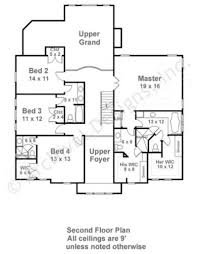 Colonial Floor Plans Chandler Neoclassic House Plan Luxury Home Blueprints
