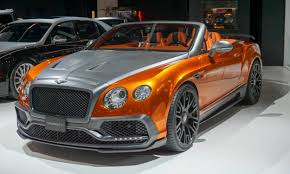 customized bentley sweet rides for halloween cars in orange and black autonxt