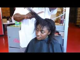 ideas for hairstyles for damaged edges how to repair chemically damaged hair relaxed youtube