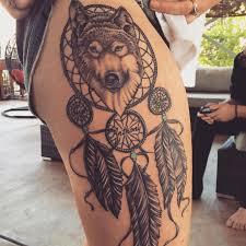 wolf dreamcatcher pinteres