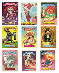kid cards nostalgic toys from your childhood garbage pail kid cards