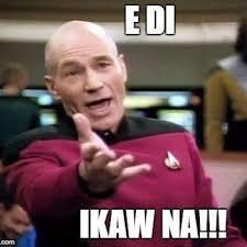 Ikaw Na Meme - ikaw na nga nag post ikaw pa magco comment at ikaw pa magli like