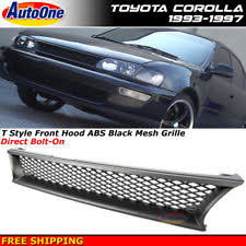 1996 toyota corolla front bumper hella toyota corolla 1992 1996 front grille with fog lights
