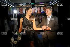 republicain lorrain mariage metz handball perf en robe blanche