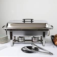 chafing dish rental choice economy 8 qt size stainless steel chafer chafing