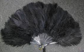 feather fans ostrich feather fan small eeagal trimming