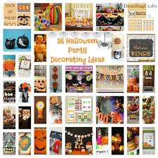 beanbugcrafts 36 halloween party decoration printables u0026 favor