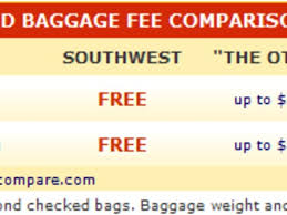southwest baggage fees 55 southwest checked bags free 36 southwest airlines tips and