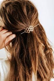 honeycomb hair pin brass hair clip brass hair slide hair