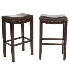 leather saddle seat bar stools you u0027ll love wayfair