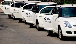 indian made cars data suggests uber is trailing far behind rival ola in india