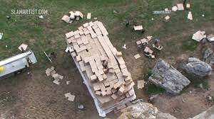 ft to meters german stuntman drops from 150 feet 45 meters into cardboard