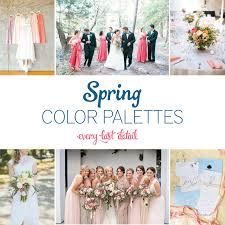 color palette for wedding 15 wedding color palettes every last detail