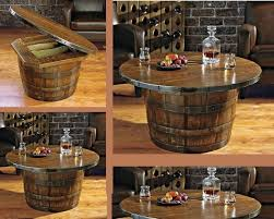 whiskey barrel side table whiskey barrel end table winewhiskey barrel coffee whiskey wine