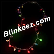 flashing christmas light necklace christmas light strand flashing necklace font color 00ff00 sale
