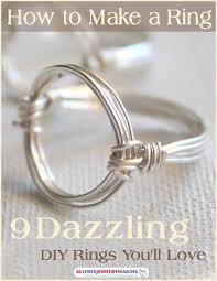 make metal rings images How to make a ring 9 dazzling diy rings you 39 ll love jpg