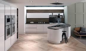 curved kitchens staffordshire kitchens u0026 granite