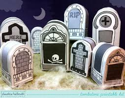 Halloween Grave Cake Halloween Tombstones Candy Box Party Favor Box U0026 Place