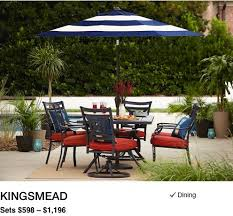 Patio Sets With Umbrella Shop Outdoor Patio Furniture Collections With Lowe U0027s