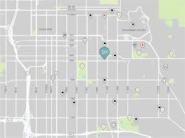 Salt Lake City Map Salt Lake City Sh Architecture