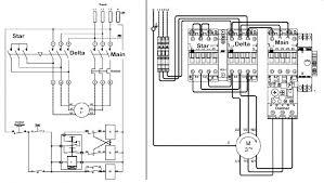 schematics and wiring diagram for delta starter wiring