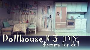 Dollhouse Kitchen Furniture Diy Dollhouse 2 How To Make Kitchen For Doll Pullip Monster High