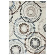 Turquoise Rug 5x7 C51 Anemones Shag Rug 5x7 Ft At Home At Home
