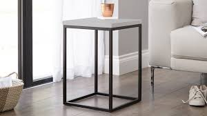 Black Side Table Modern Grey And Metal Side Table Living Room Table Uk