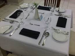 Set A Table by How To Set A Restaurant Table Home Design Ideas