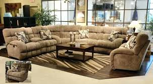 Leather Recliner Sectional Sofa Large Leather Reclining Sectional Sofa Extra Recliner Big Boy