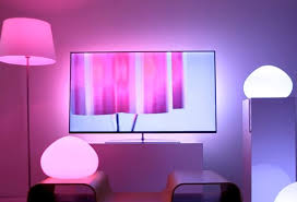 philips hue light strip behind tv 4 cool things you can do with philips hue lights electronic house