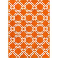 Modern Orange Rug Orange Abstract Rugs Area Rugs For Less Overstock