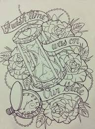 something permanent tattoo clock tattoo design and tattoo designs
