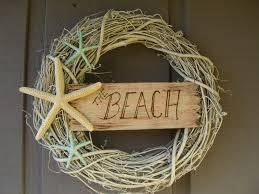 beach house decor shabby chic starfish wreath the beach beach