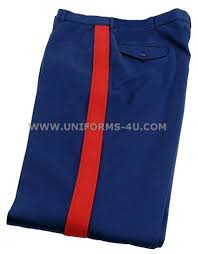 usmc officer dress blue trousers