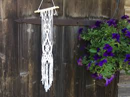 macrame wall hanging white wall decoration boho home decor macrame wall hanging white wall decoration boho home decor makramee wand macrame