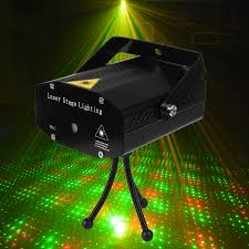 Christmas Laser Light Show Projector by Portable Mini Led Projector Dj Disco Light Red And Green Music
